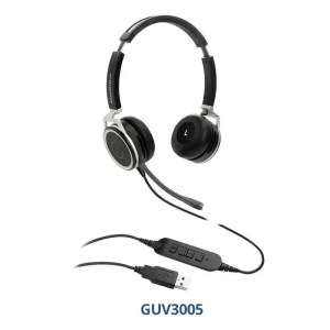 GUV3005 USB Headsets with noise canceling technology