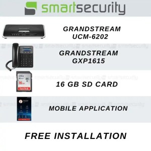 Grandstream IP Central UCM6202 with Mobile App Kit