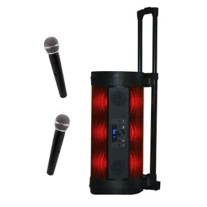 Conqueror Speaker Portable Rechargeable with Dual Microphones S48