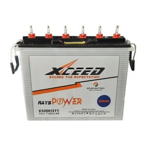 This is a picture of the Tubular battery Deep Cycle 12V-200AH provided in Lebanon by Smart Security_1