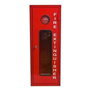 Fire Extinguisher Cabinet 12 KG Metal Break Glass