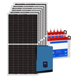 This is a picture of the Solar Energy System Kit 12 AMPS sold in Lebanon by Smart Security