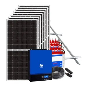 This is a picture of the Solar energy System Package 15 AMPS sold in Lebanon by Smart security Lebanon