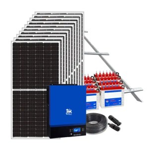 This is a picture of the Solar System Package 20 AMPS sold in Lebanon by Smart Security Lebanon