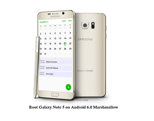 Root Galaxy Note 5