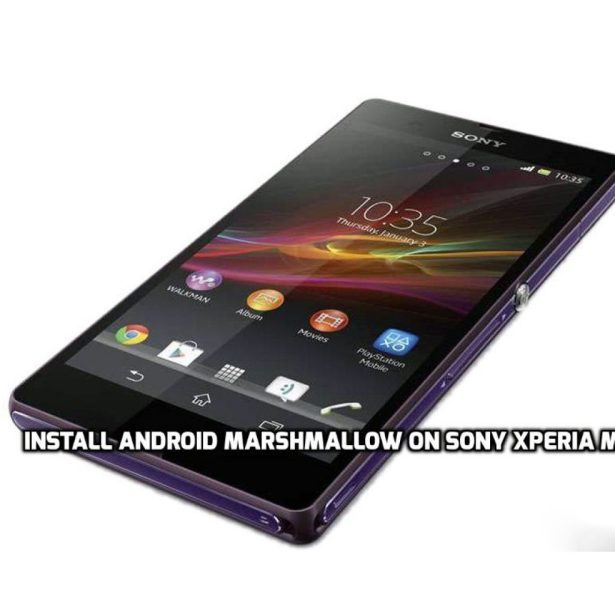 Install Android Marshmallow on Sony Xperia M