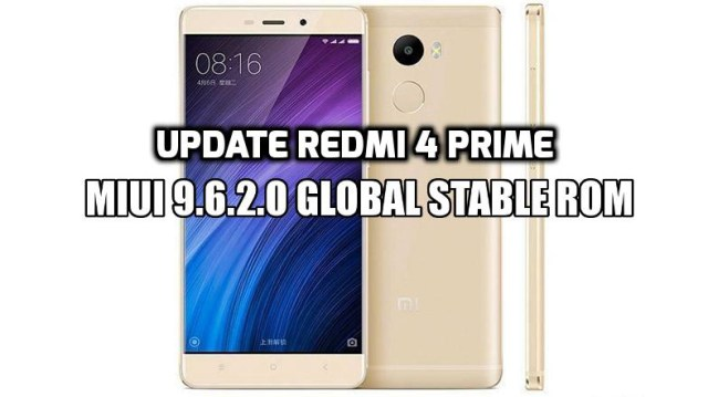 [How to Guide] Update Redmi 4 Prime MIUI 9.6.2.0 Global Stable ROM
