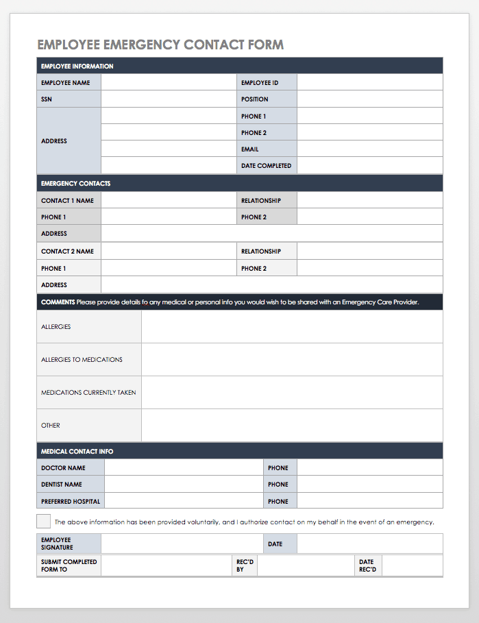 30/06/2021· client information form templates can be used by professionals like consultants, contractors and medical experts to have customer details to make communication easy and effective. Free Contact List Templates Smartsheet