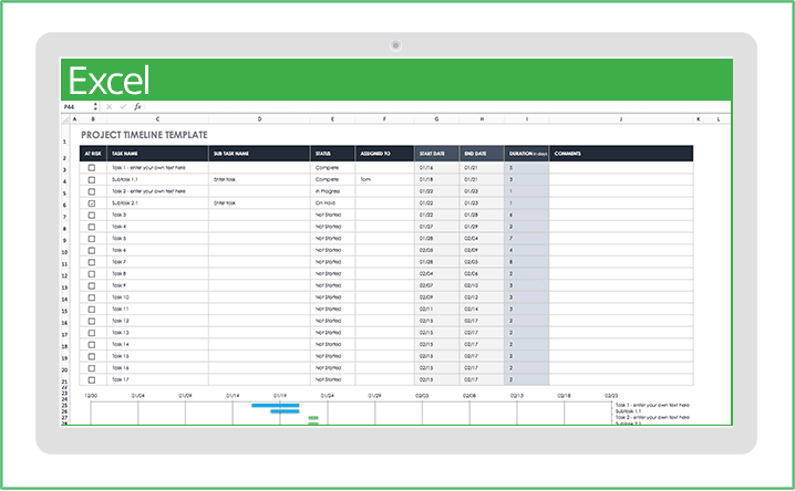 It includes everything you would require in a p&l statement. 32 Free Excel Spreadsheet Templates Smartsheet