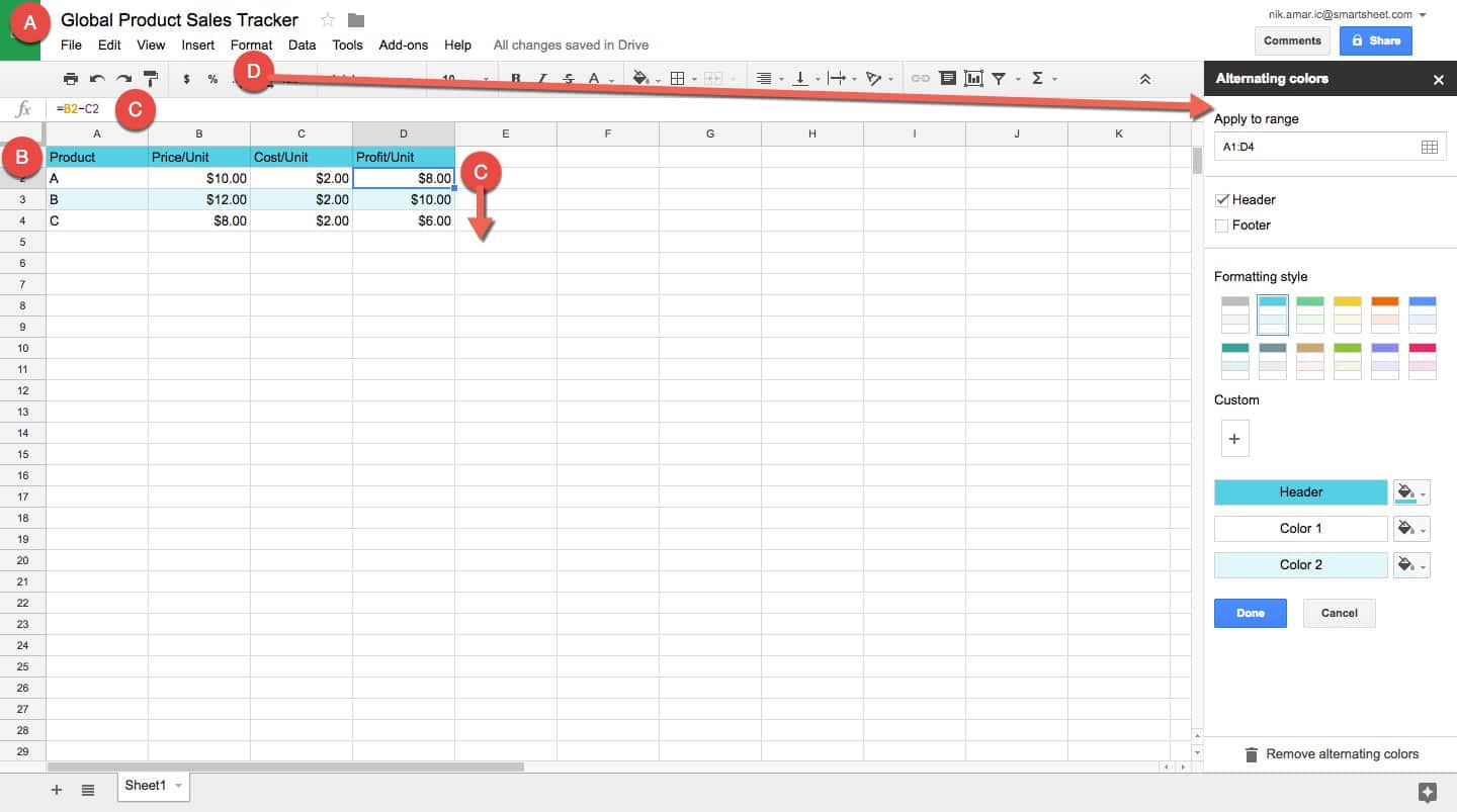 How To Make A Spreadsheet In Excel Word And Sheets