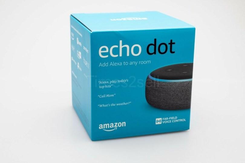 echo dot box