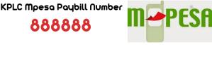 KPLC Paybill Number 888888