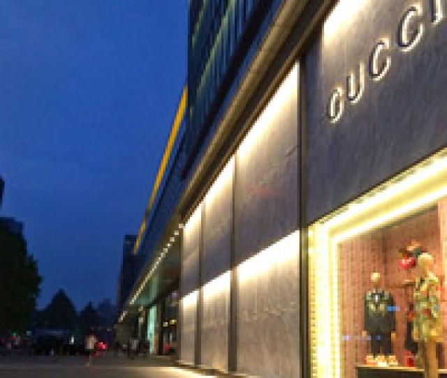 Beijing Brand Shopping At Gucci Near Ritz Carlton