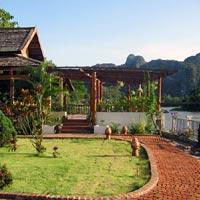 Villa Nam Song in Vang Vieng