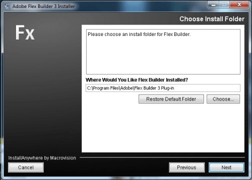 how to install adobe flex builder plugin in eclipse