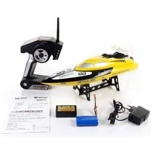 BT912 2.4G Radio Control RC Speed Racing Boat (Yellow) - RC boats