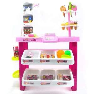 Dessert Shop 40 piece luxury supermarket grocery playset - kitchen set