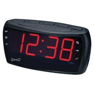 Digital AM-FM Dual Alarm Clock Radio with Jumbo Digital Display - Personal Electronics