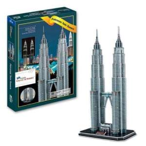 Petronas Twin Towers 3D Puzzle (86 pcs)