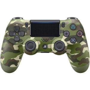 PlayStation(R)4 DUALSHOCK(R)4 Wireless Controller (Green Camo) - Gaming Accessories