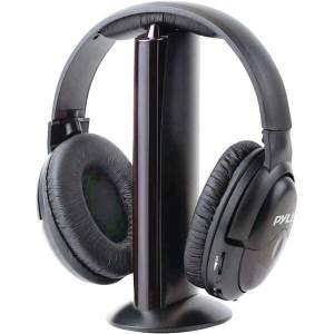 Professional 5-in-1 Wireless Headphone System with Microphone - Personal Electronics