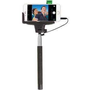 Selfie Stick with Wired Shutter - Phone Accessories