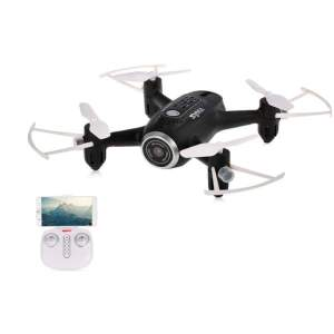 Syma X22W Wifi FPV Pocket Drone HD Camera (Black) - RC Drone