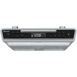 Under-Cabinet Bluetooth(R) CD Clock Radio - Personal Electronics