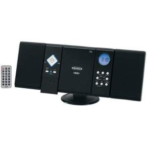 Wall-Mountable CD System with AM-FM Stereo Receiver - Personal Electronics