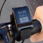 Pebble Smartwatch - Radfahren