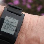 Pebble Smartwatch - Kalendereinträge