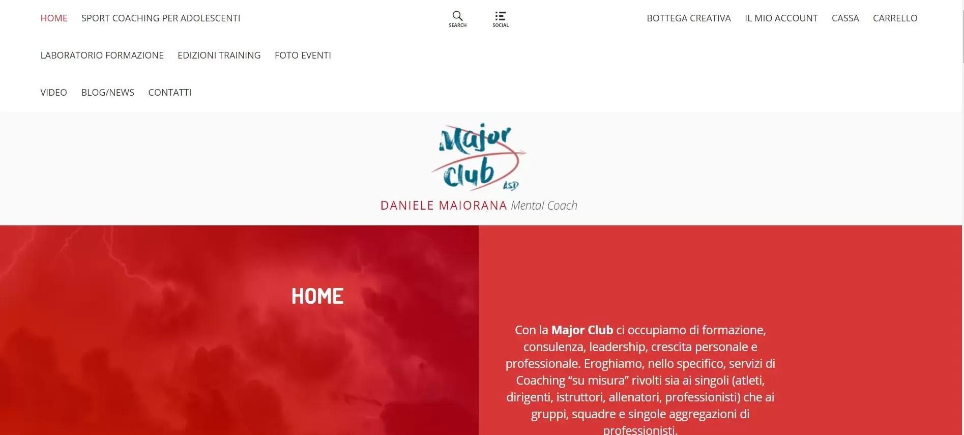 Daniele Maiorana Mental Coach