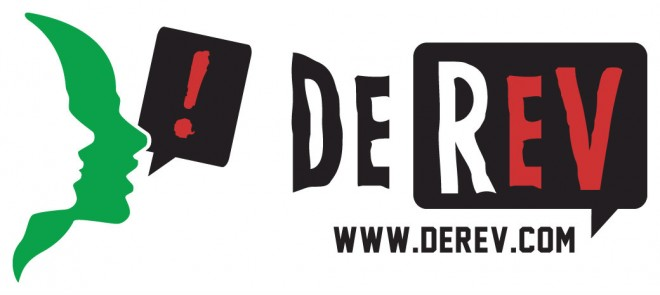DeRev - Logo white