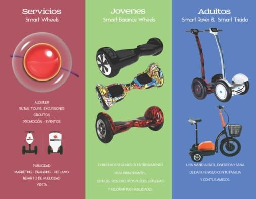 Triptico trasero Comercial Smart Wheels Español