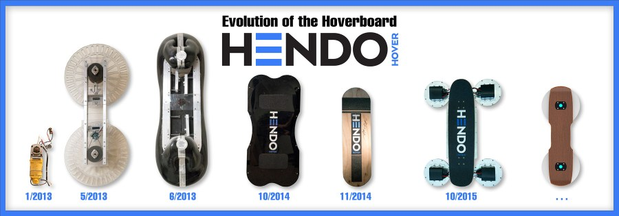 Hendo Hoverboard - Smart Wheels