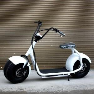 Harley Electrica Blanca - Smart Wheels