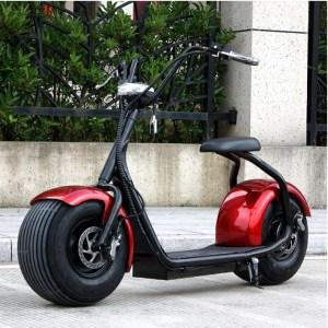 Harley Electrica Roja - Smart Wheels