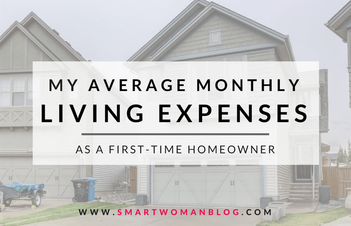 monthly expenses first time homeowner