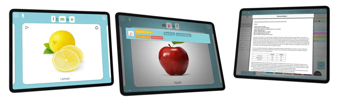 Bilingual Articulation and Phonology Assessment – Smarty Ears