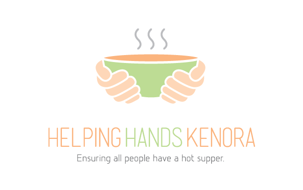 Logo for Helping Hands Kenora