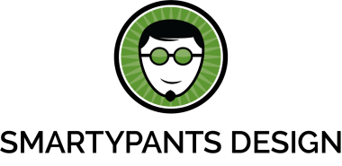 SmartyPants Design Logo - Center
