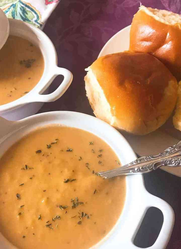 carrot artichoke and leek soup