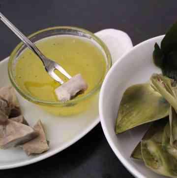 Clarified Butter for Artichoke