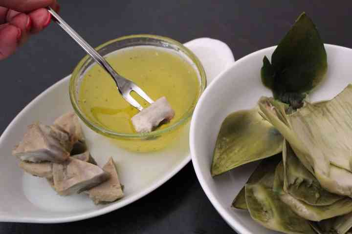 Clarified Butter for Artichoke