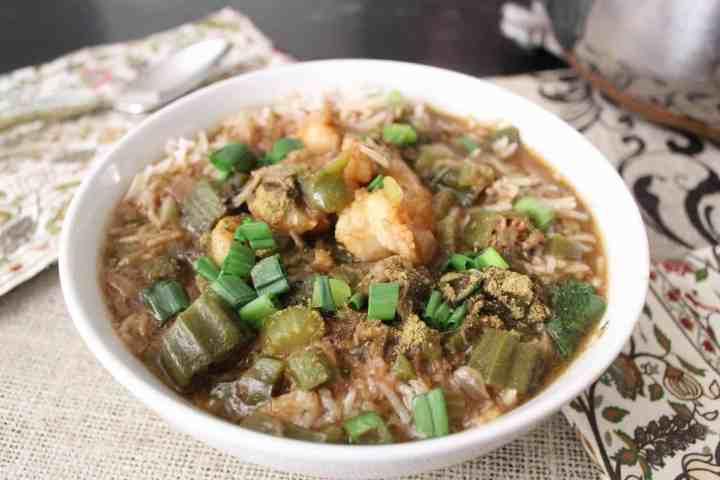 Bowl of Seafood Gumbo