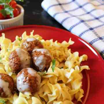 Swedish Meatballs and Sauce