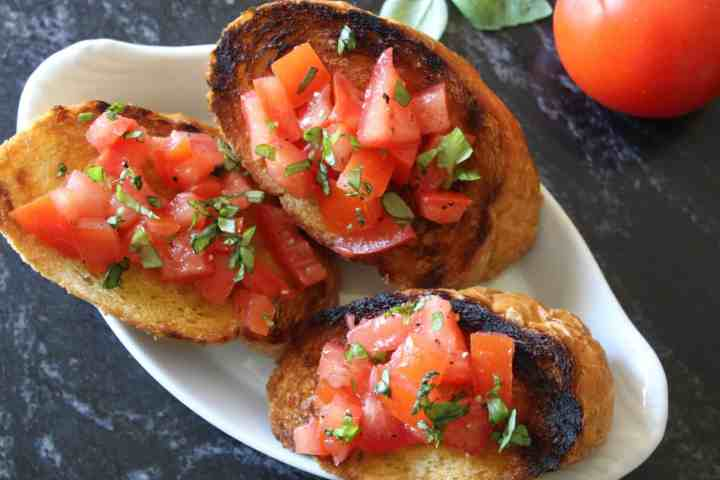 Authentic Italian Bruschetta