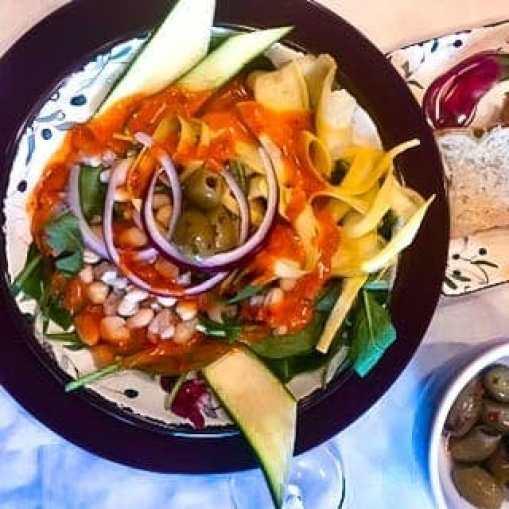 Spicy Mediterranean Salad
