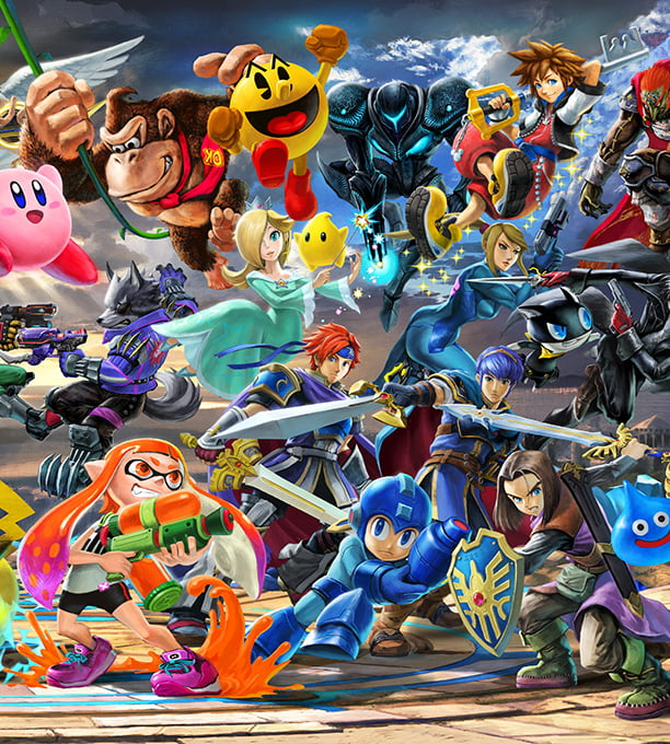 Super Smash Bros  Ultimate for the Nintendo Switch system   Official     Super Smash Bros  Ultimate for the Nintendo Switch system   Official Site
