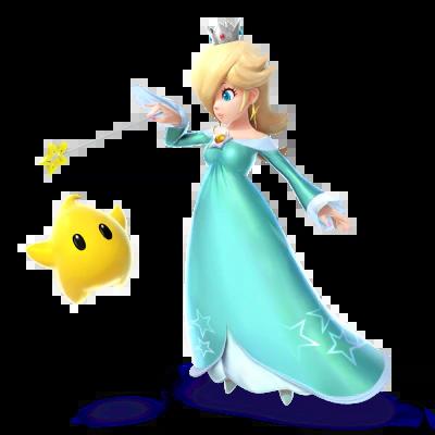 Super Smash Bros For Nintendo 3DS Wii U Rosalina Amp Luma